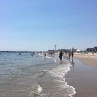 Photo taken at Brighton Beach by Anastasia R. on 6/25/2016