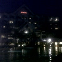 Photo taken at Miri Marriott Resort & Spa by Nazmi A. on 3/22/2013