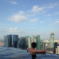 Photo taken at Rooftop Infinity Pool by Sasha K. on 3/1/2013