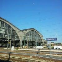 Photo taken at Leipzig Hauptbahnhof by AF_Blog on 7/8/2013