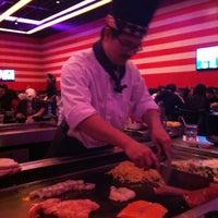 Photo taken at Banzai Hibachi Steakhouse by Brandee D. on 2/17/2013