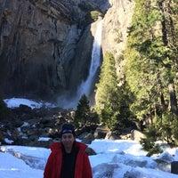 Photo taken at Lower Yosemite Falls by John K. on 12/28/2016