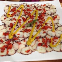 Photo taken at Capriccio Cafe & Gelatto by Mario C. on 4/9/2014