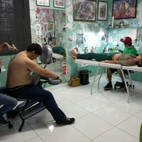 Photo taken at Hard Collors Tattoo by Nicolas M. on 11/6/2013