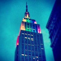 Photo taken at Empire State Building by Myke M. on 6/30/2013