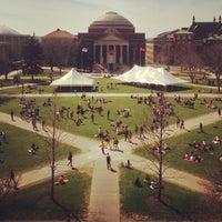 Photo taken at Syracuse University Quad by Nate S. on 4/18/2013