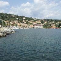 Photo taken at Lungomare di Santa Margherita Ligure by Neva p. on 4/6/2014
