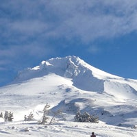 Photo taken at Timberline Lodge by Mike G. on 4/9/2013