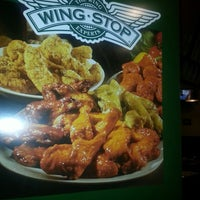 Photo taken at Wingstop by Andrea W. on 9/2/2013