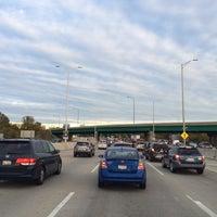 Photo taken at I- 290 & I-90 Interchange by Myk L. on 10/13/2015