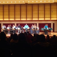 Photo taken at COFAC Recital Hall by Samuel E. on 12/7/2013