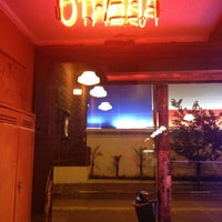 Photo taken at O Pedaço da Pizza by Caroline S. on 4/5/2013
