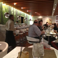 Photo taken at One Flew South Restaurant & Sushi Bar by Suzanne W. on 10/4/2013