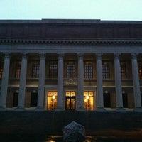 Photo taken at Widener Library by Dakyung J. on 6/11/2013