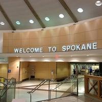 Photo taken at Spokane International Airport (GEG) by Wieners o. on 4/9/2013