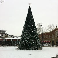 Photo taken at Town Square Fountain by Dan R. on 12/31/2012