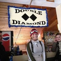 Photo taken at double-diamond bar by Michael M. on 1/12/2013