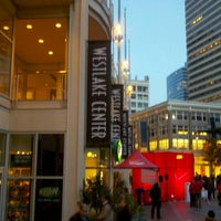 Photo taken at Westlake Center by Beer J. on 11/11/2012