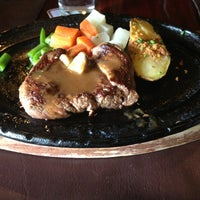 Photo taken at Chokchai Steak House by Krittaporn W. on 1/5/2013