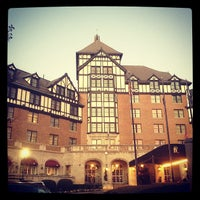 Photo taken at The Hotel Roanoke & Conference Center - Curio - A Collection by Hilton by Marie E. on 11/17/2012
