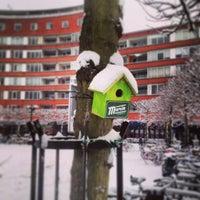 Photo taken at Marie Heinekenplein by Eelco W. on 1/15/2013