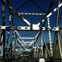 Photo taken at Carquinez Bridge by Kristina C. on 12/31/2012