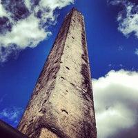 Photo taken at The Obelisk (Cleopatra's Needle) by Tokuyuki K. on 3/23/2013