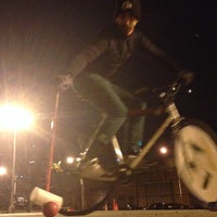 Photo taken at NYC Bike Polo - Baltic Court by Deco on 12/20/2013