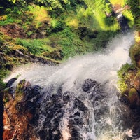 Photo taken at Multnomah Falls by Joshua C. on 5/26/2013