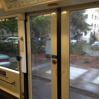 Photo taken at Portland Streetcar Jay Kenton Station (SW Park & Mill) by Mo R. on 10/22/2012