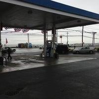 Photo taken at Mobil by Scott B. on 7/1/2013