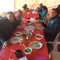 Photo taken at Barbacoa y Consome El Paisa by Victor E. on 1/19/2014