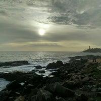 Photo taken at Vizhinjam Lighthouse by TJ A. on 5/26/2016