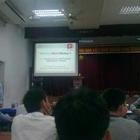 Photo taken at Đại học Nguyễn Tất Thành by Co T. on 3/30/2013