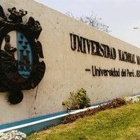 Photo taken at Universidad Nacional Mayor de San Marcos - UNMSM by Elba B. on 10/31/2012