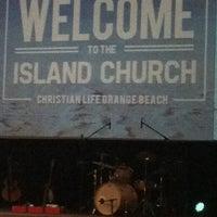 Photo taken at Christian Life Church Orange Beach by Matthew W. on 3/2/2014