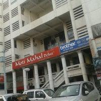 Photo taken at District Center, Janak Place by Pranay S. on 3/18/2013