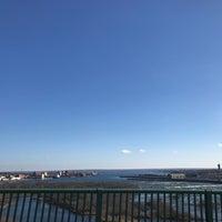 Photo taken at Sault Sainte Marie International Bridge by Nathan S. on 11/14/2016