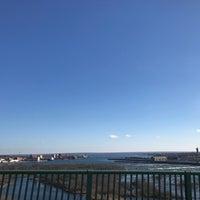 Photo taken at Sault Sainte Marie International Bridge by Nathan S. on 11/13/2016