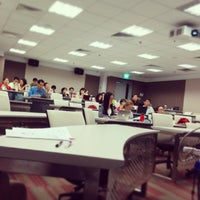 Photo taken at School of Humanities and Social Sciences | NTU by アントン ア. on 2/20/2014
