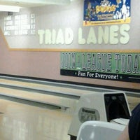 Photo taken at Triad Lanes by Thiamous M. on 4/28/2013