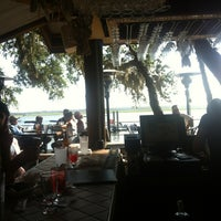 Photo taken at Cap's on the Water by Kendall M. on 7/6/2013