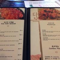 Photo taken at Dae Bok Restaurant by Jungha C. on 6/16/2013