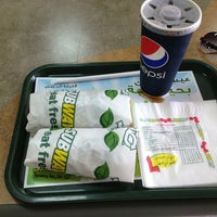 Photo taken at Subway by Mohammed A. on 6/23/2013