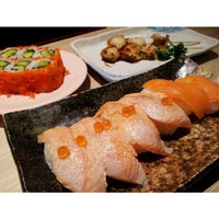 Photo taken at Sushi Tei by FoodyTwoShoes on 4/13/2013