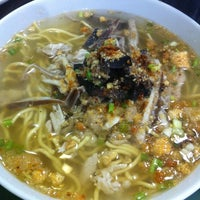 Photo taken at Ted's La Paz Batchoy by Kayi S. on 12/30/2012