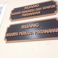 Photo taken at Kantor Badan Pertanahan Nasional Kabupaten Serang by Muhamad A. on 11/18/2015