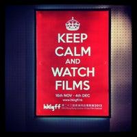 Photo taken at Broadway Cinematheque by Desmond Y. on 11/18/2012