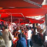 Photo taken at Tianguis Del Sabado by Kobi O. on 1/19/2013