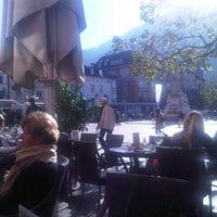 Photo taken at Stadt Café Città by Flavio R. on 10/24/2012